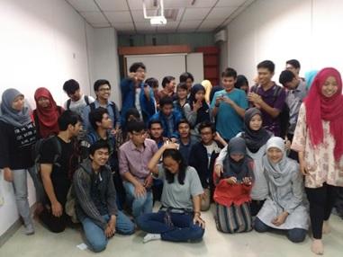 Diskusi Astrobiologi Kolaborasi Dua Himpunan